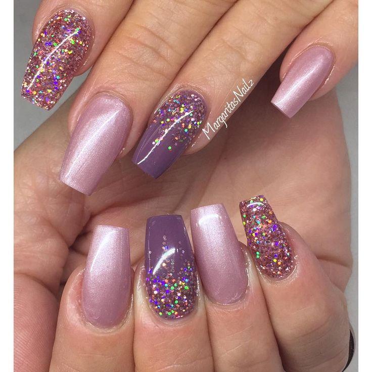 blush acrylic nails photo - 2