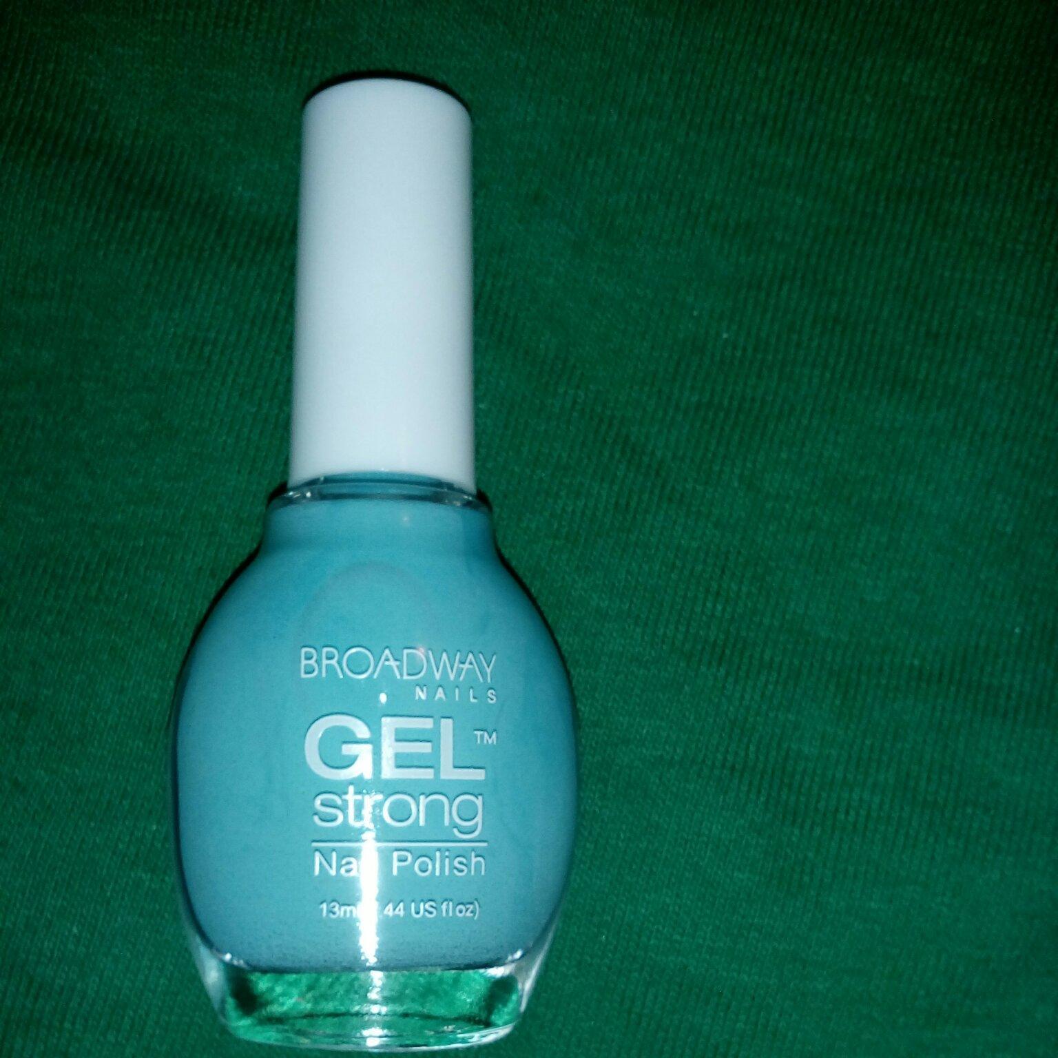 broadway nails gel strong nail polish photo - 1