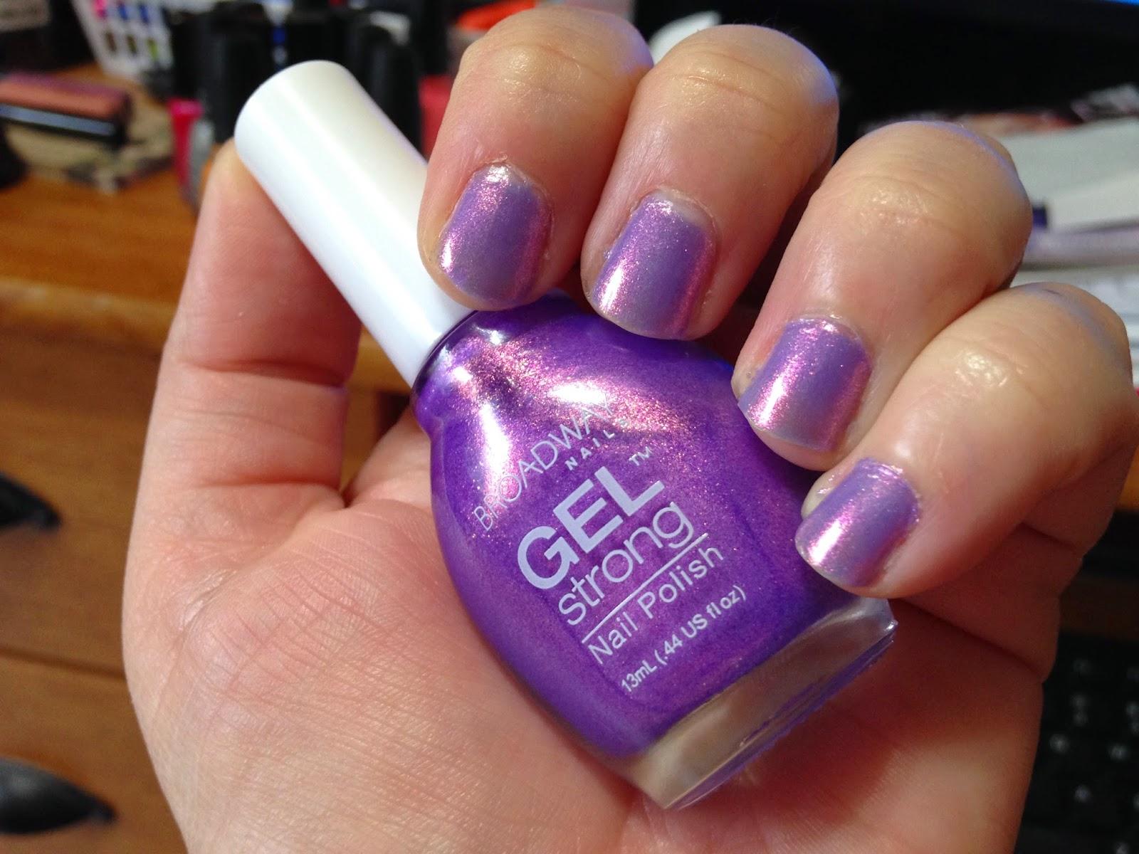 broadway nails gel strong nail polish photo - 2