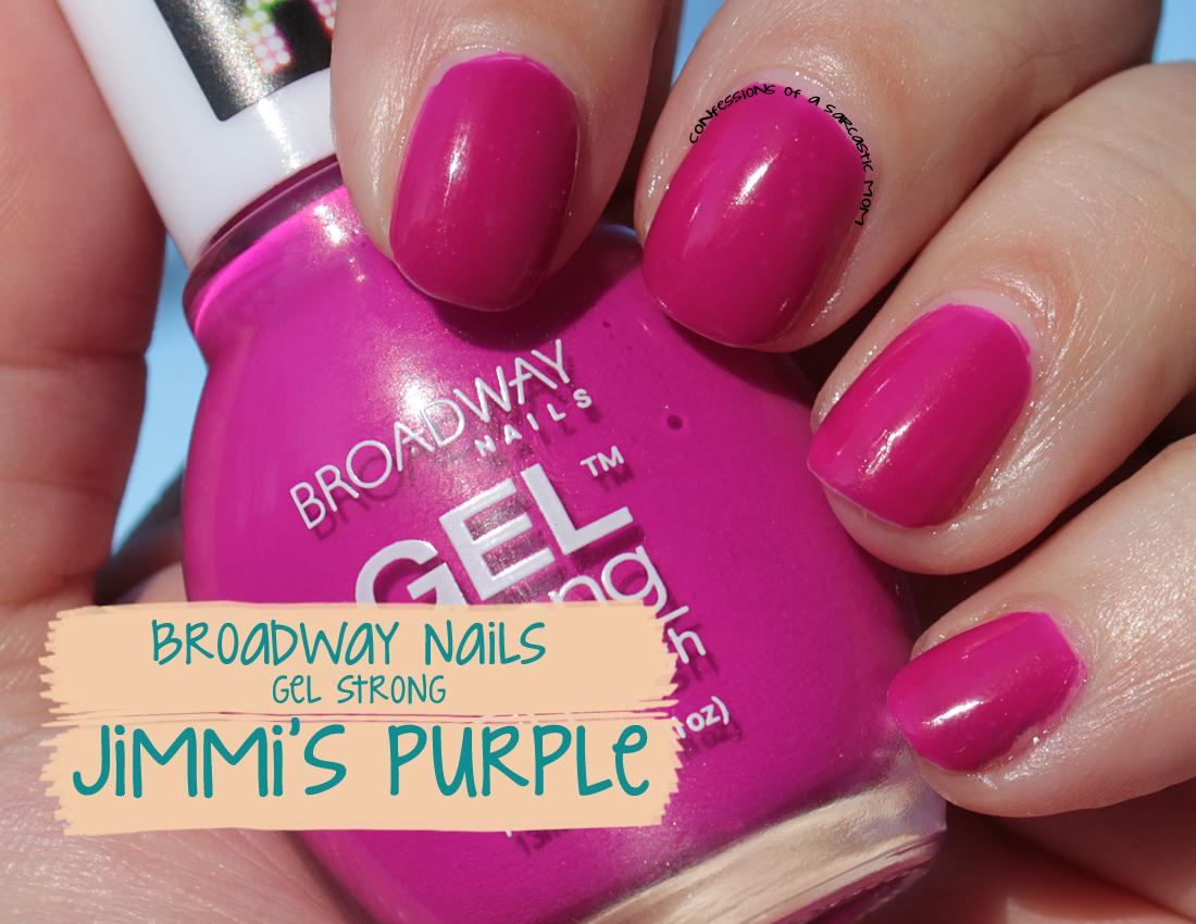 Broadway nails gel strong nail polish - Expression Nails
