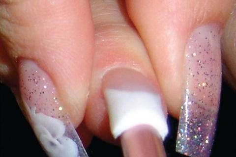 c curve gel nails photo - 1