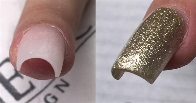 c curve gel nails photo - 2