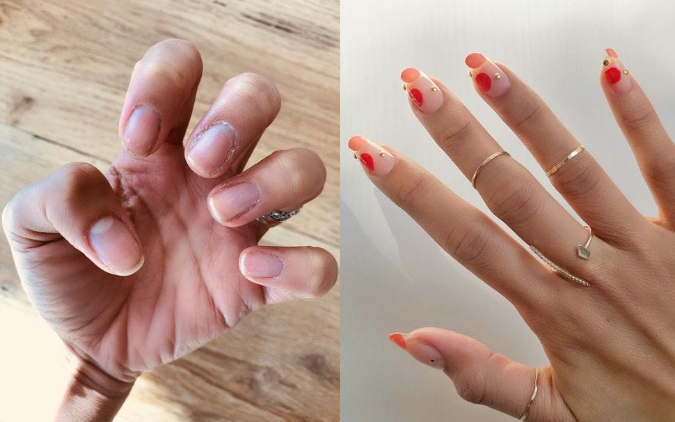 can u cut gel nails photo - 2
