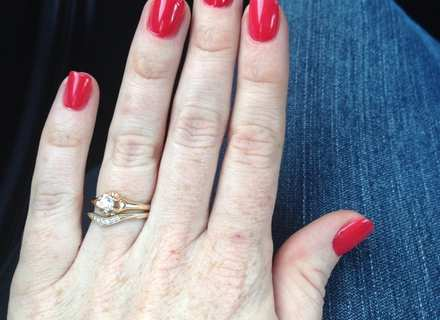 can you polish over gel nails photo - 1