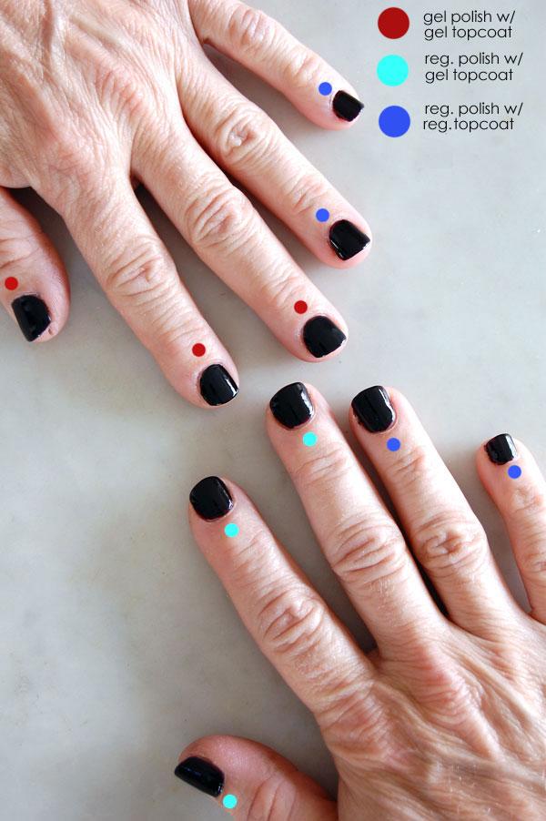 can you use regular nail polish to paint gel nails photo - 1