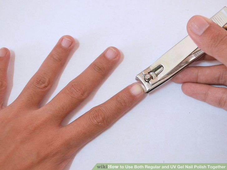 can you use regular nail polish to paint gel nails photo - 2