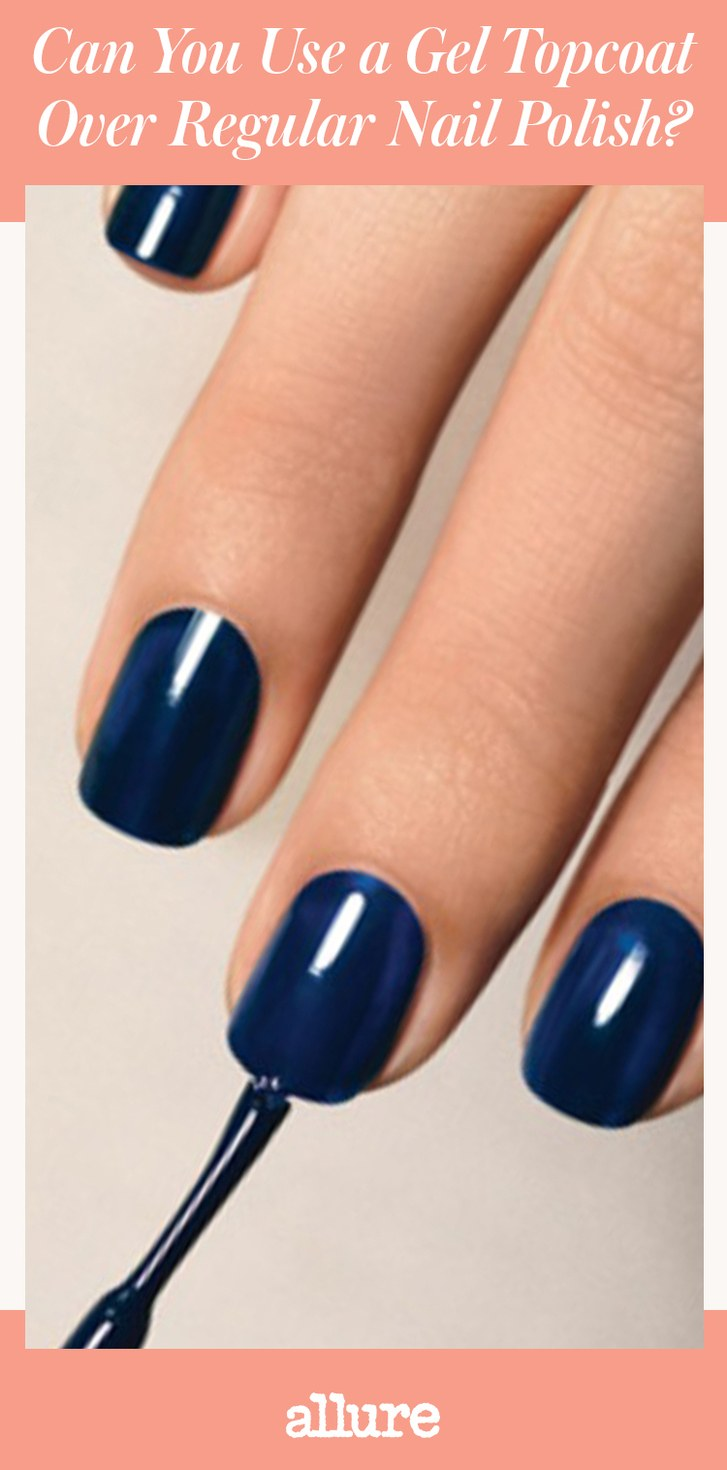 can you use regular top coat on gel nails photo - 2