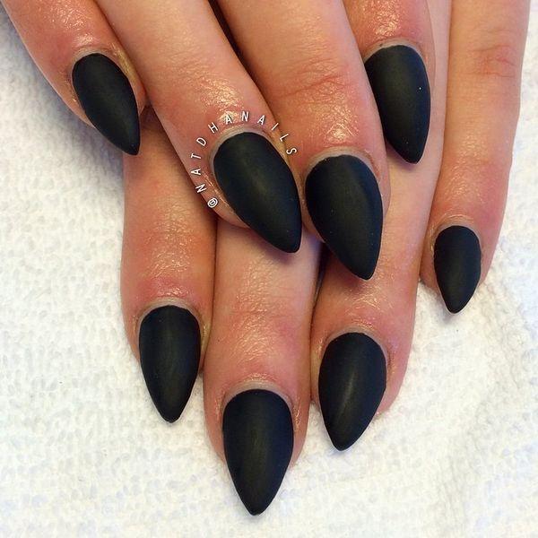 cat stiletto nails photo - 2