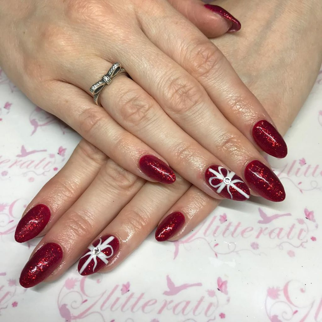 Christmas Acrylic Nails.Christmas Acrylic Nails 2018 New Expression Nails