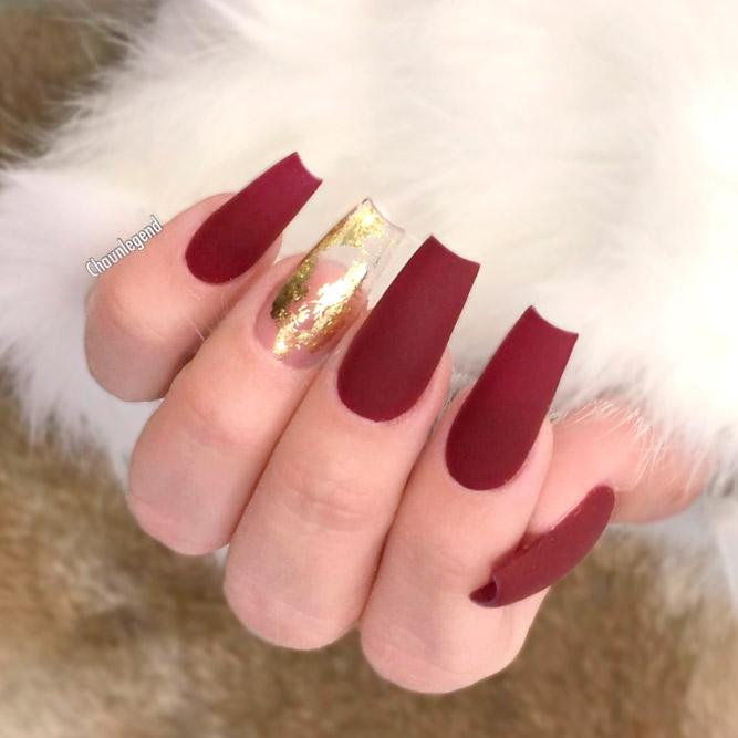Christmas acrylic nails - Expression Nails