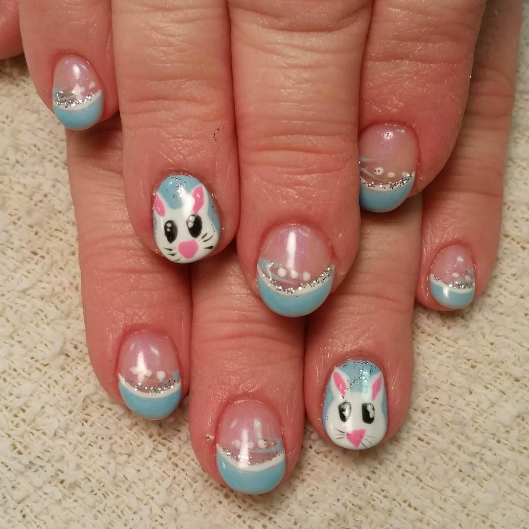 Classy acrylic nails - Expression Nails