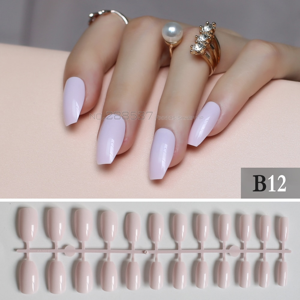 classy and pink coffin nails with designs photo - 1