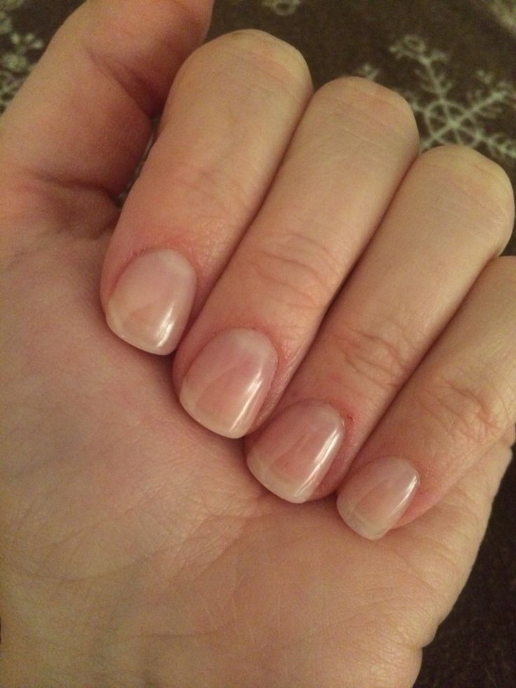 clear gel nails photo - 1