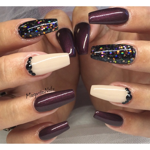 coffin nails fall color photo - 1
