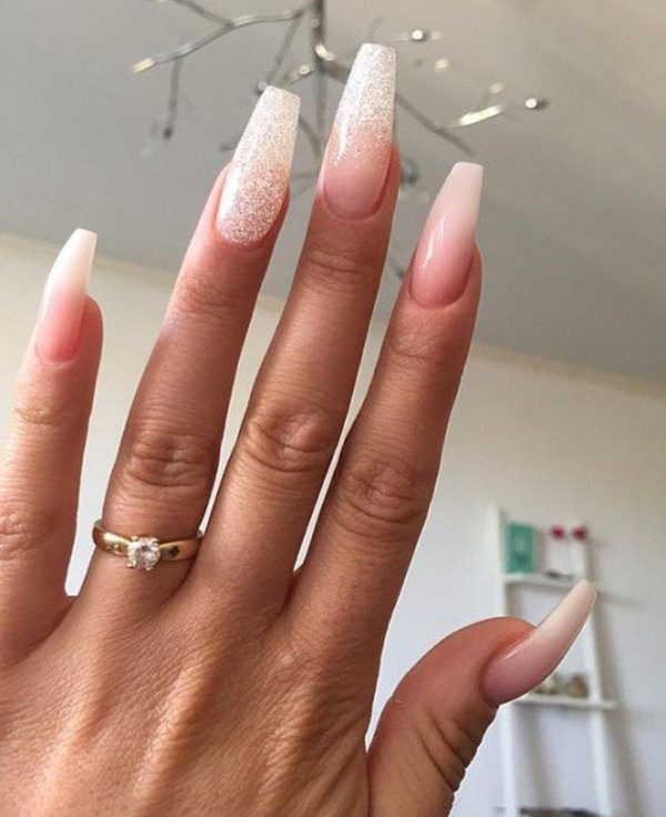 coffin nails long nude photo - 2
