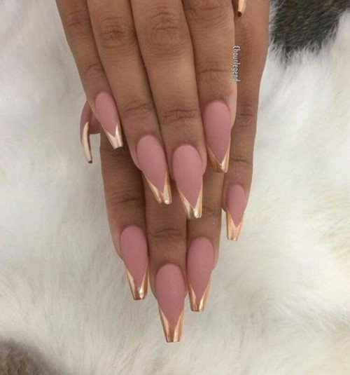 Coffin nails on pinterest - Expression Nails
