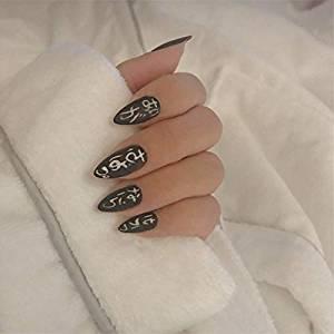 coffin shaped nails amazon photo - 1