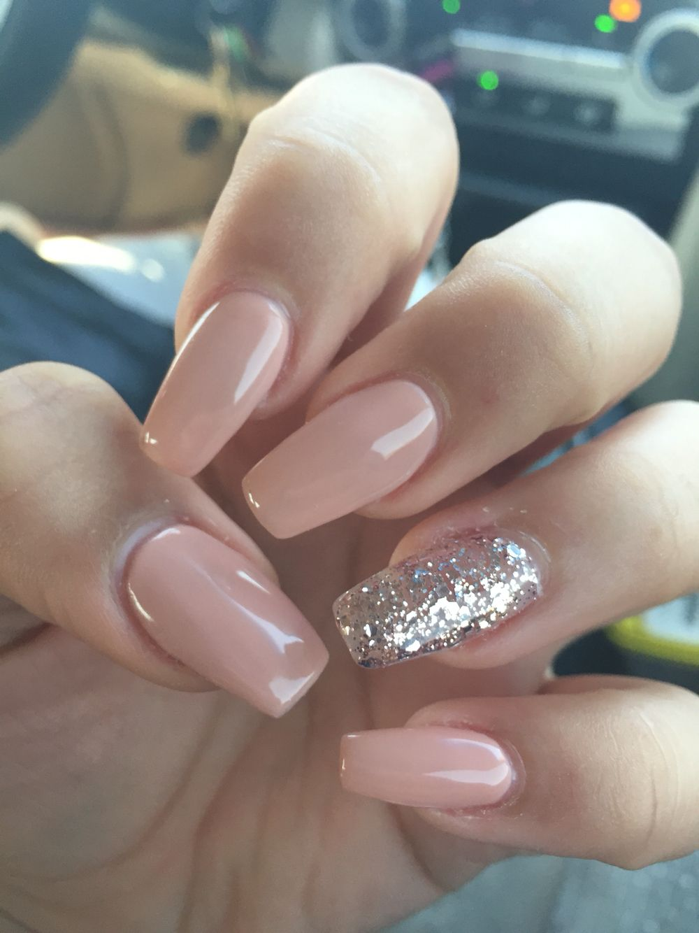 Shellac Glitter Nails Tutorial