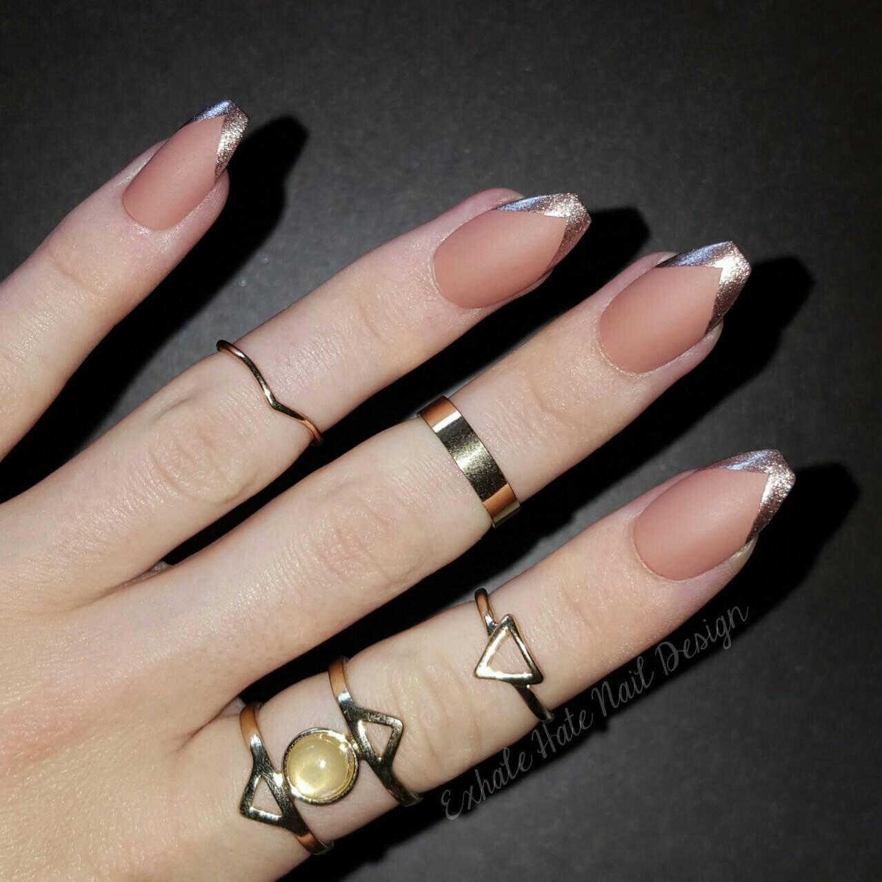 coffin v stiletto nails photo - 2