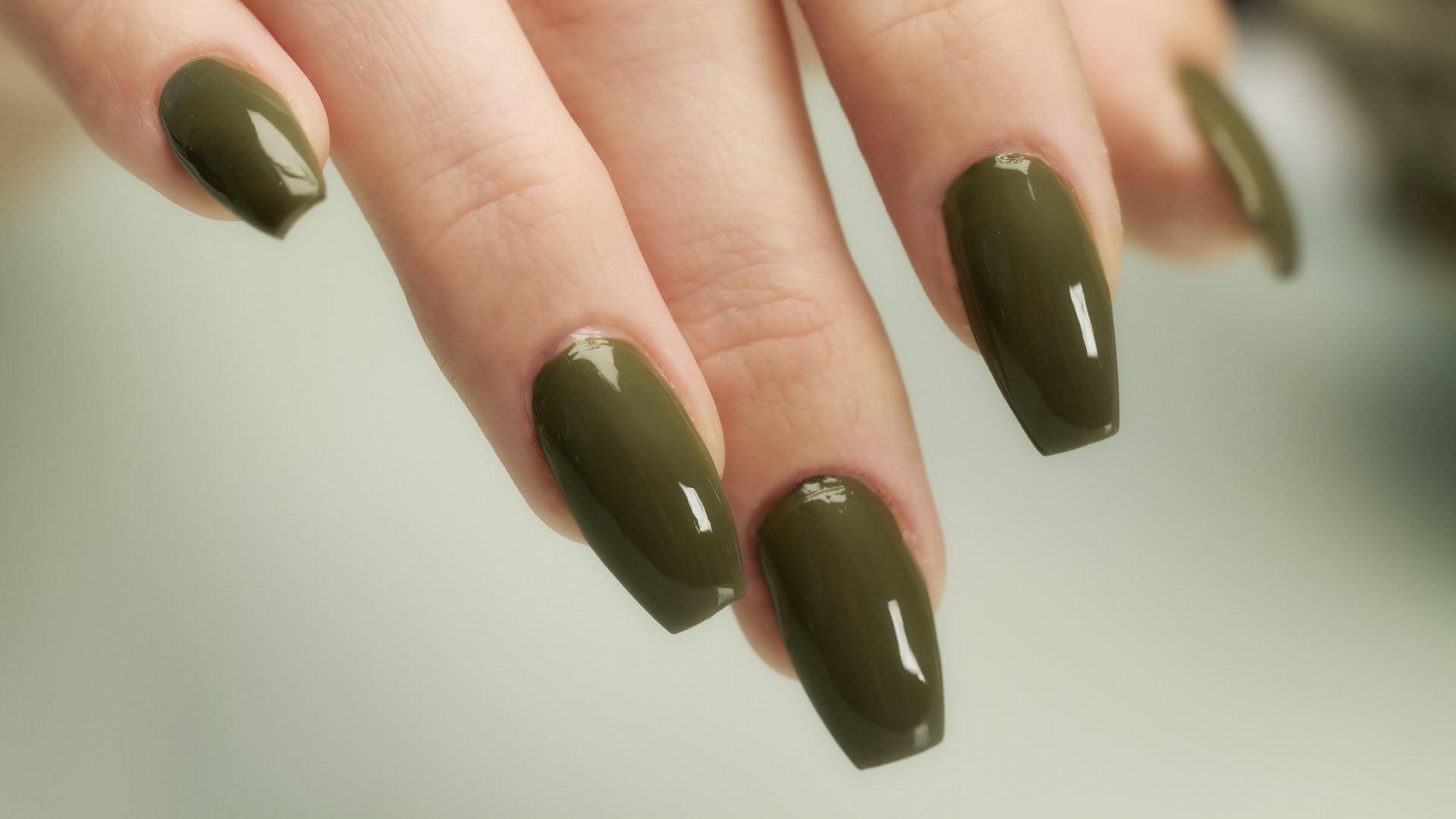 Coffin vs ballerina nails - New Expression Nails