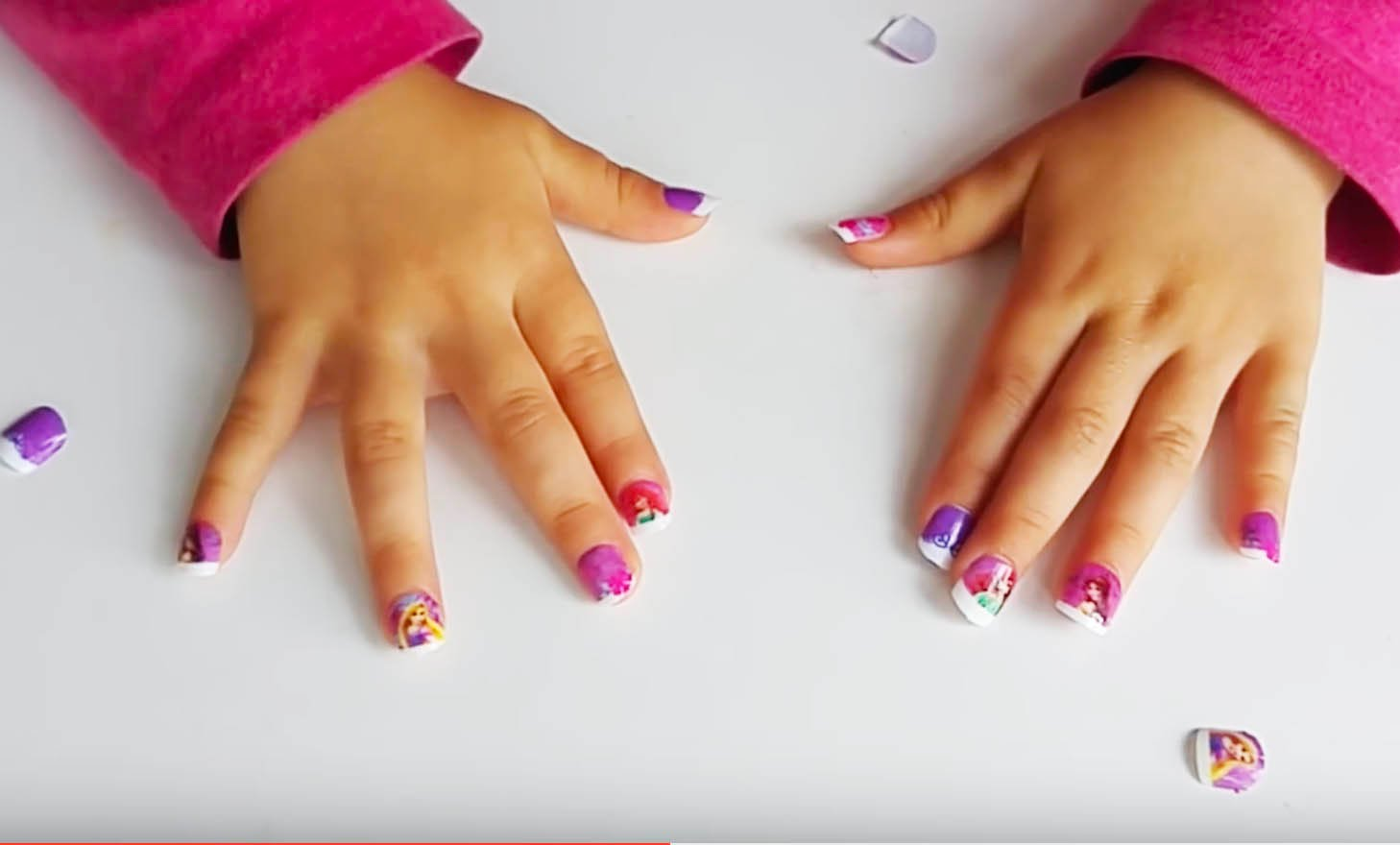 cool easy acrylic nails for teenage girl photo - 1