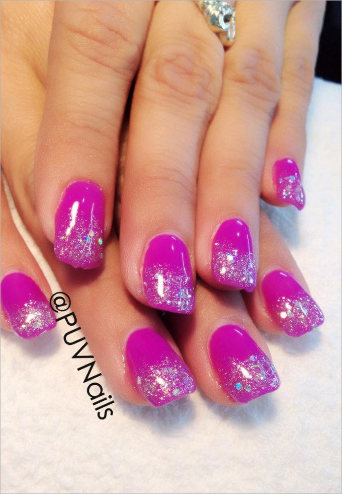 cool gel nails photo - 1