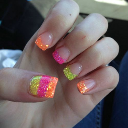 cool gel nails photo - 2