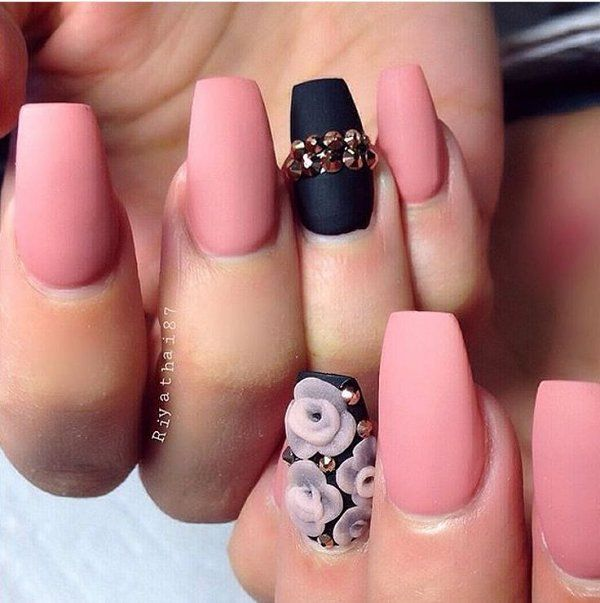 cost of acrylic nails with gel polish photo - 2