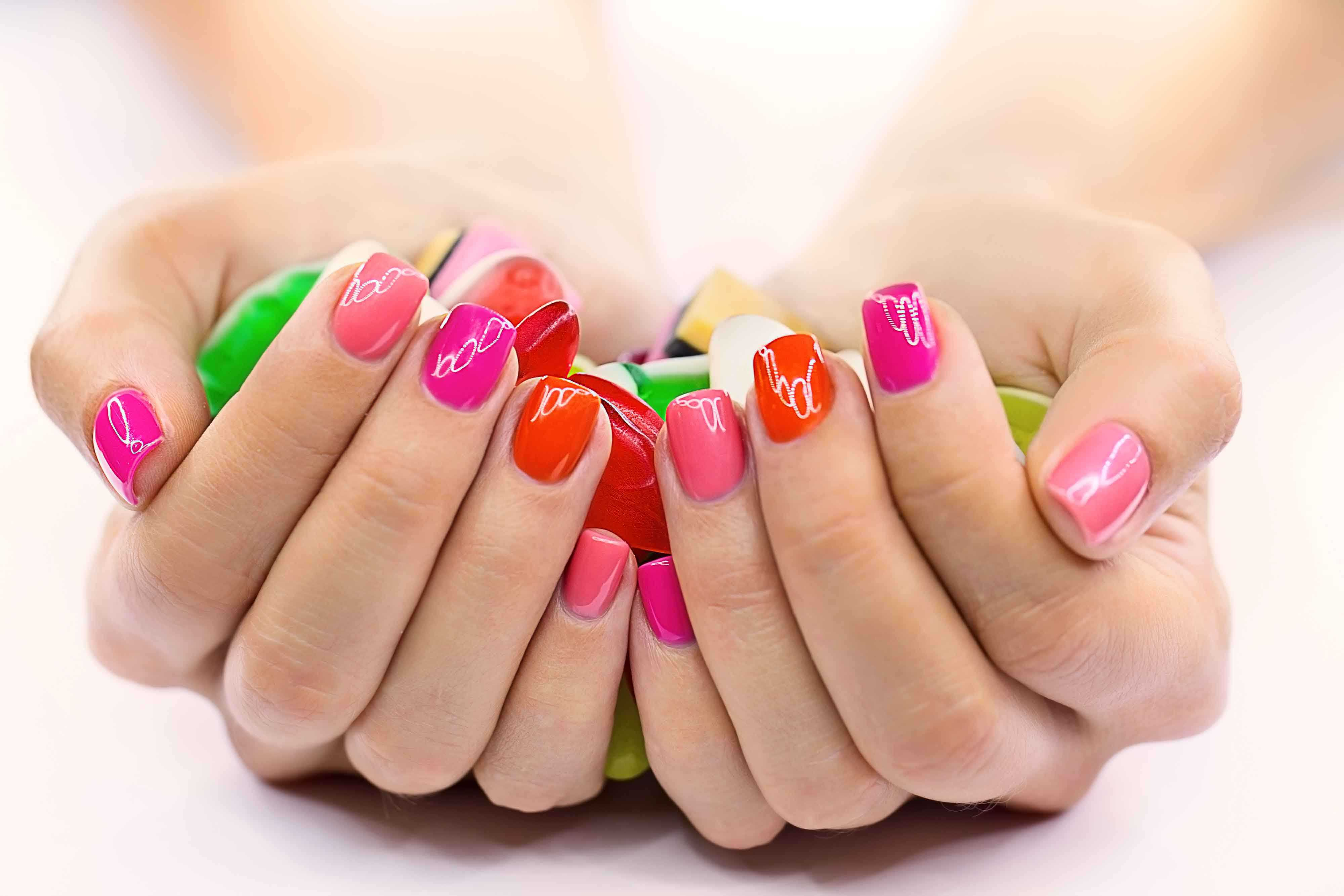 cost of gel nails photo - 1