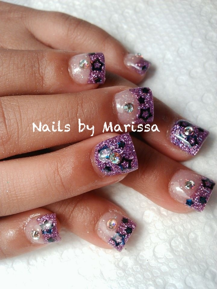 cute acrylic nails for 12 year olds photo - 2