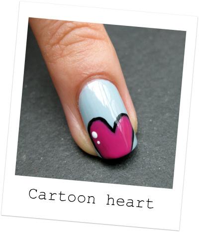 cute cartoon acrylic nails photo - 2