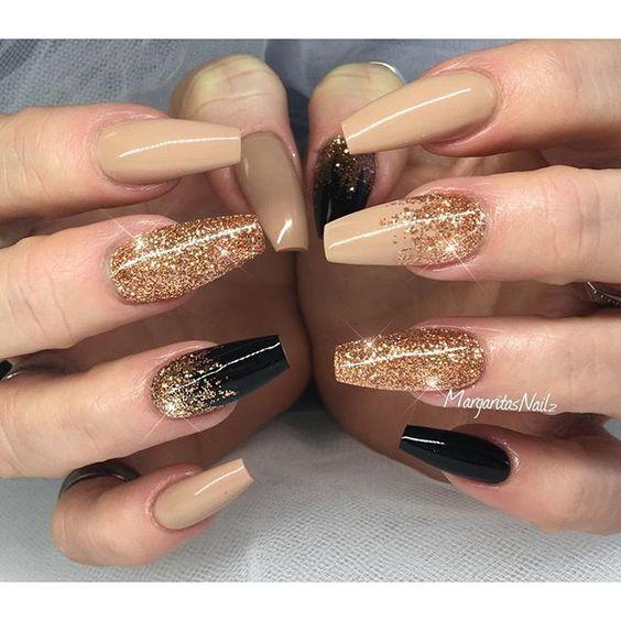 cute coffin nails photo - 2