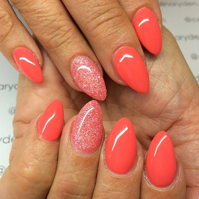 cute nail designs for short acrylic nails photo - 2