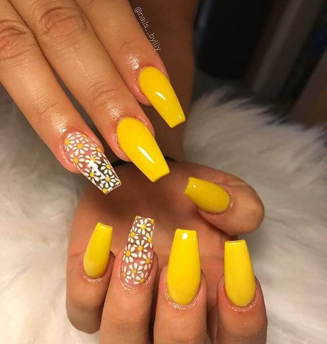 cute summer acrylic nails photo - 1