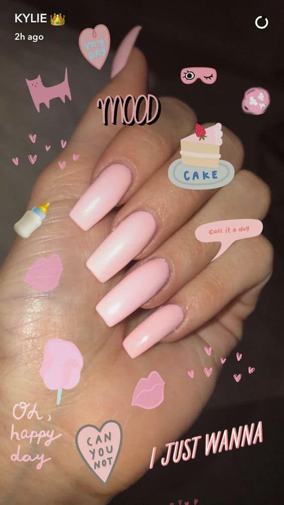 different color acrylic nails photo - 2