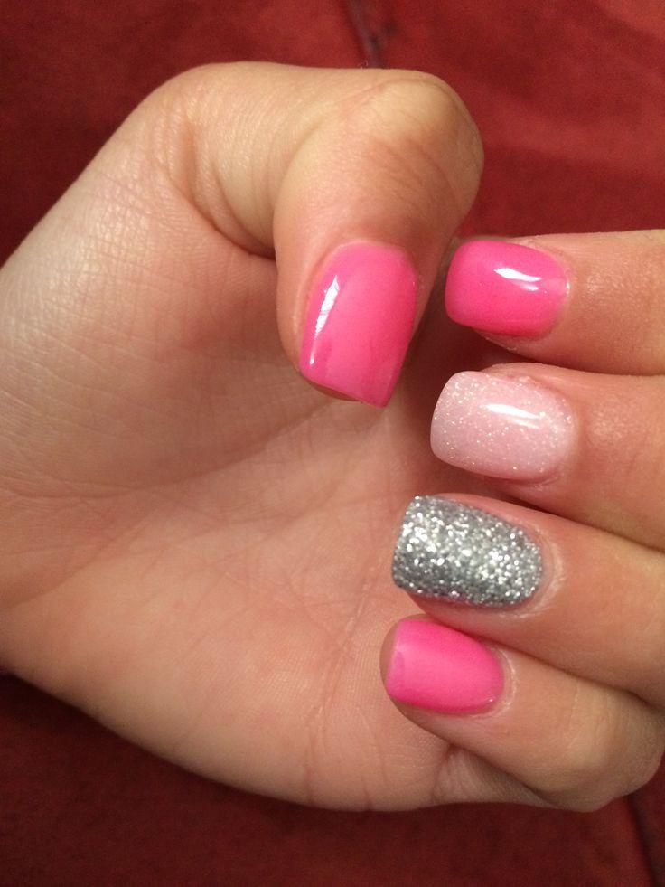 dip powder gel nails photo - 1