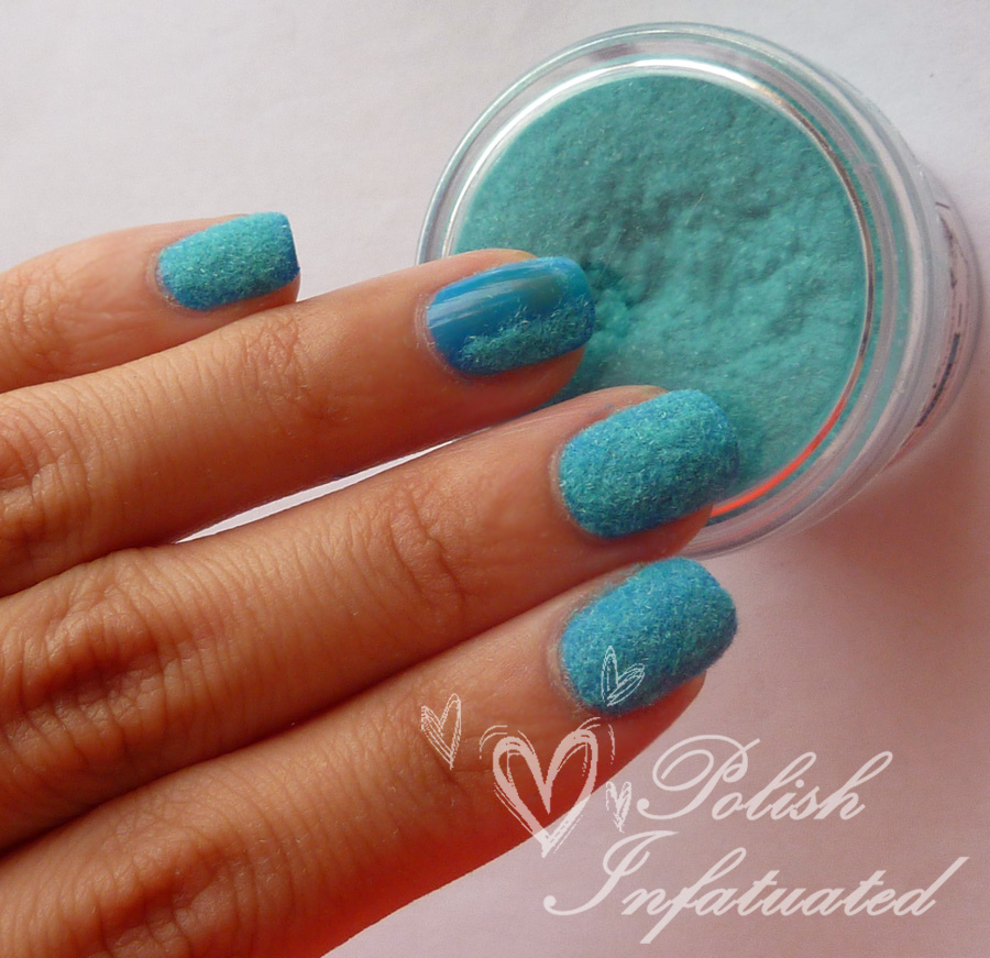 dip powder gel nails photo - 2