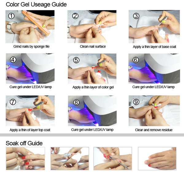 directions on how to do nails using uv gel photo - 2