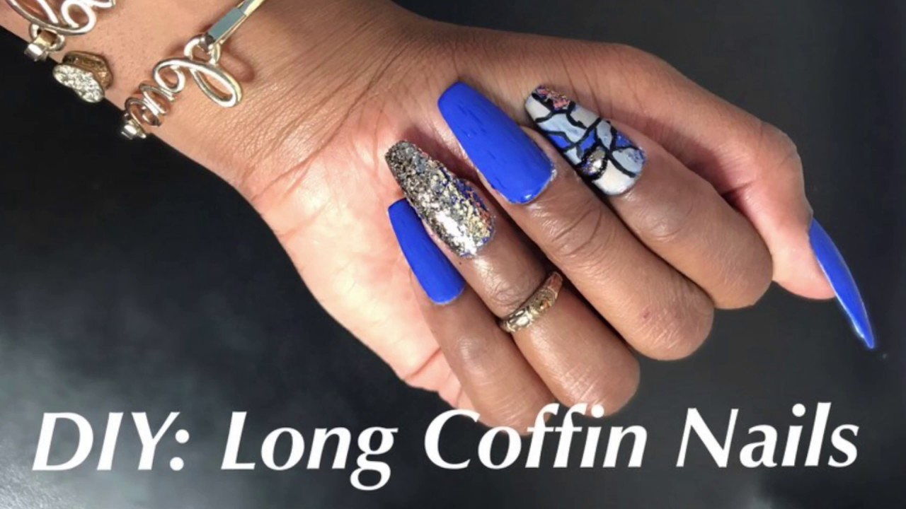 diy coffin nails photo - 2