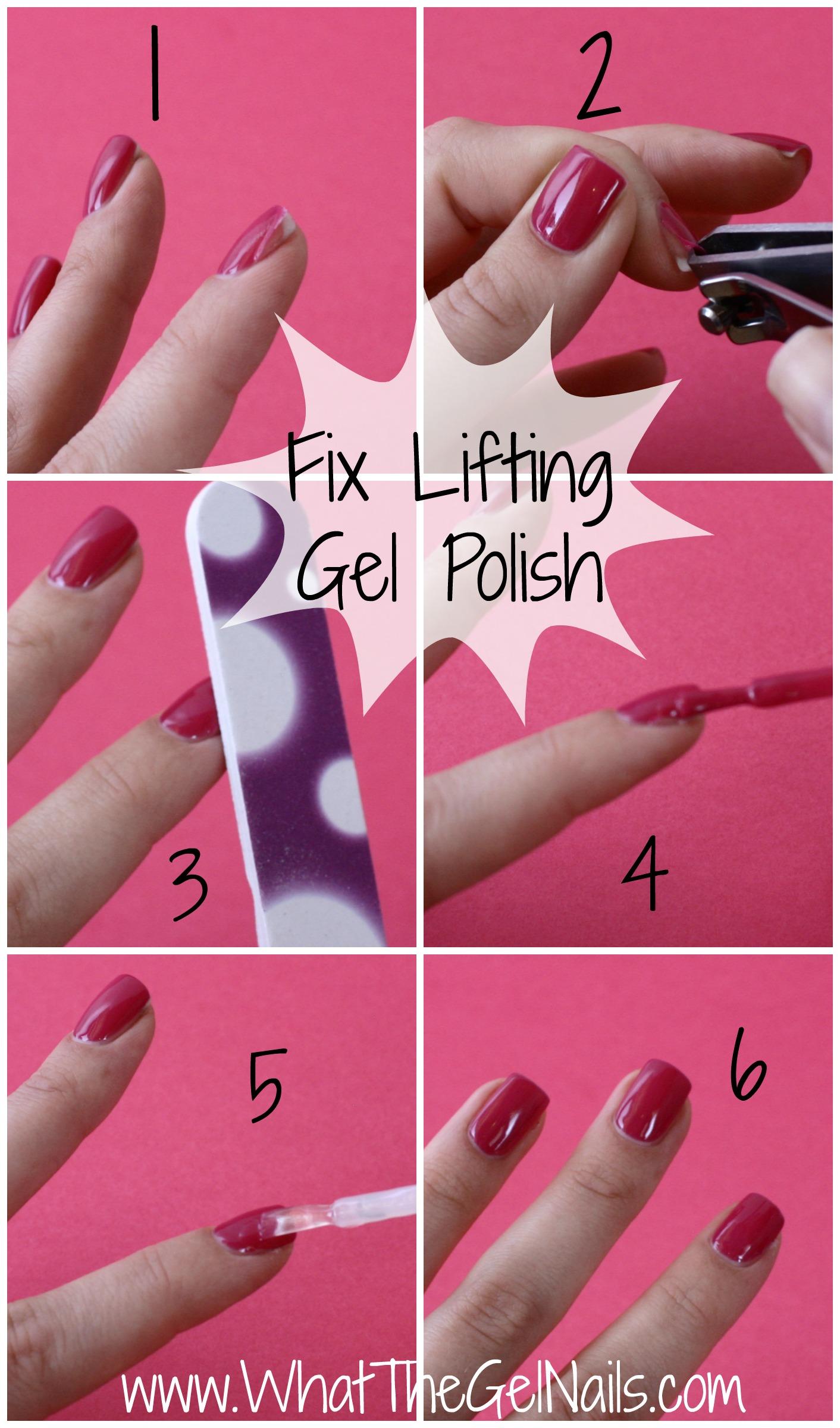 do powder gel nails lift photo - 1