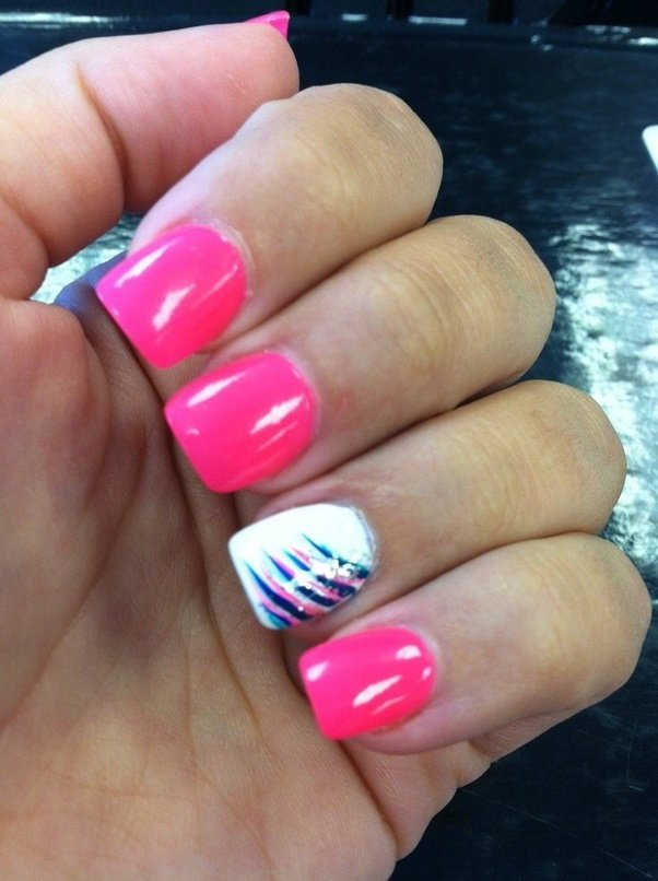do you have to use nail tips for acrylic nails photo - 2
