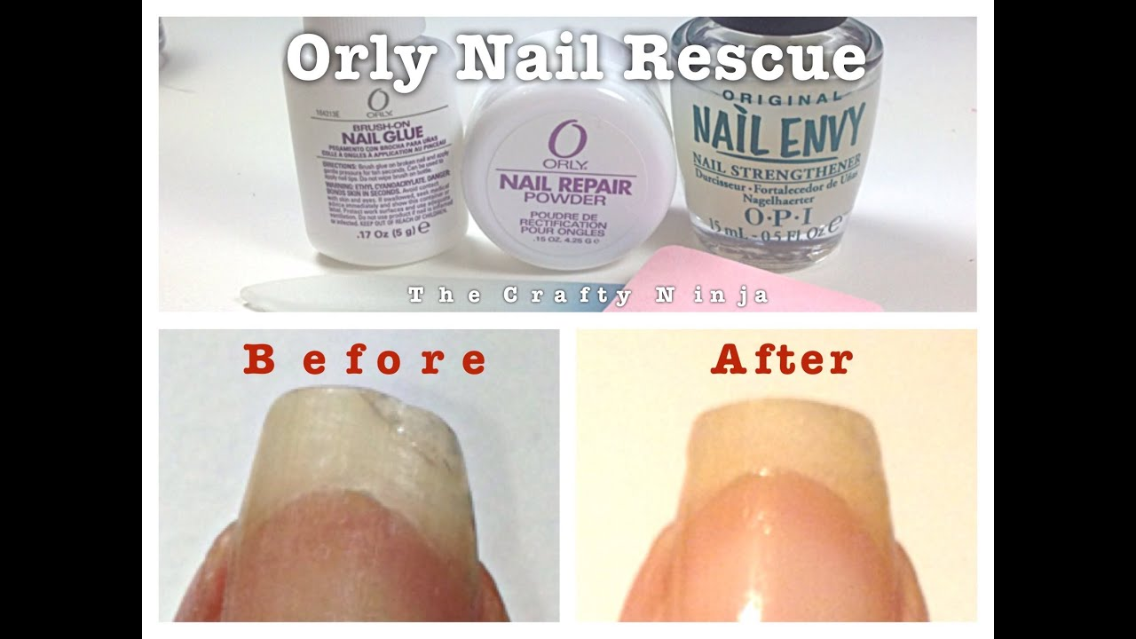 does orly nail repair work on gel nails photo - 1