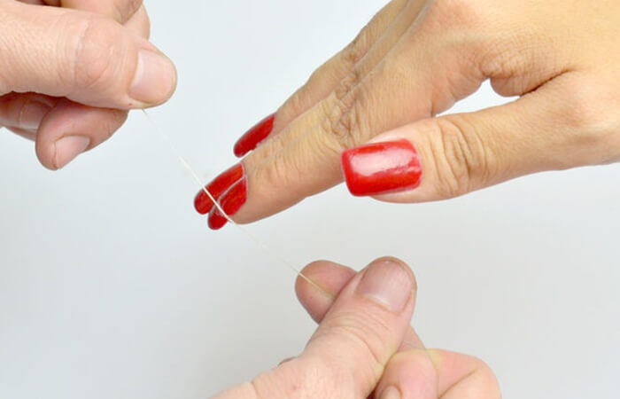 easiest way to take off acrylic nails photo - 2