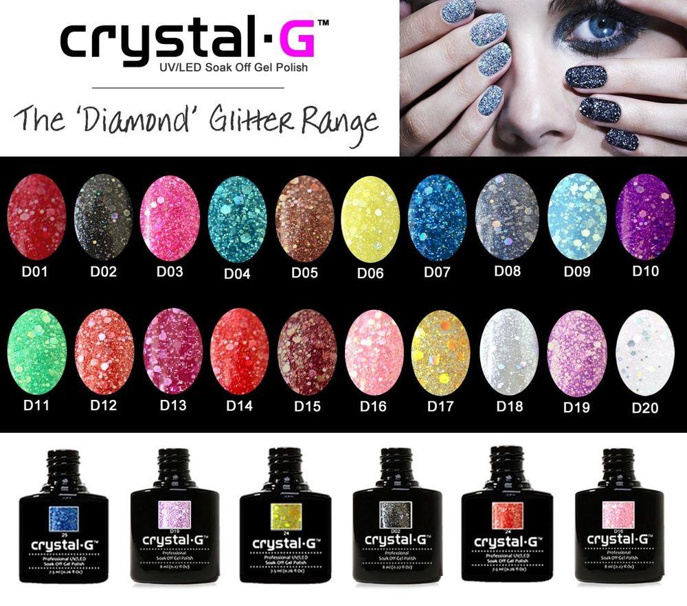 ebay gel crystal nails photo - 1