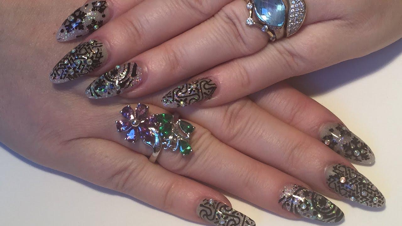 ejiubas acrylic nails photo - 1