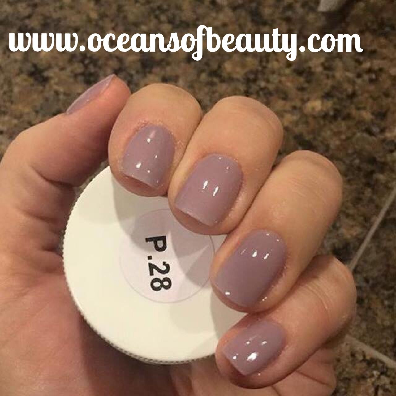 Ez dip gel powder nails - Expression Nails