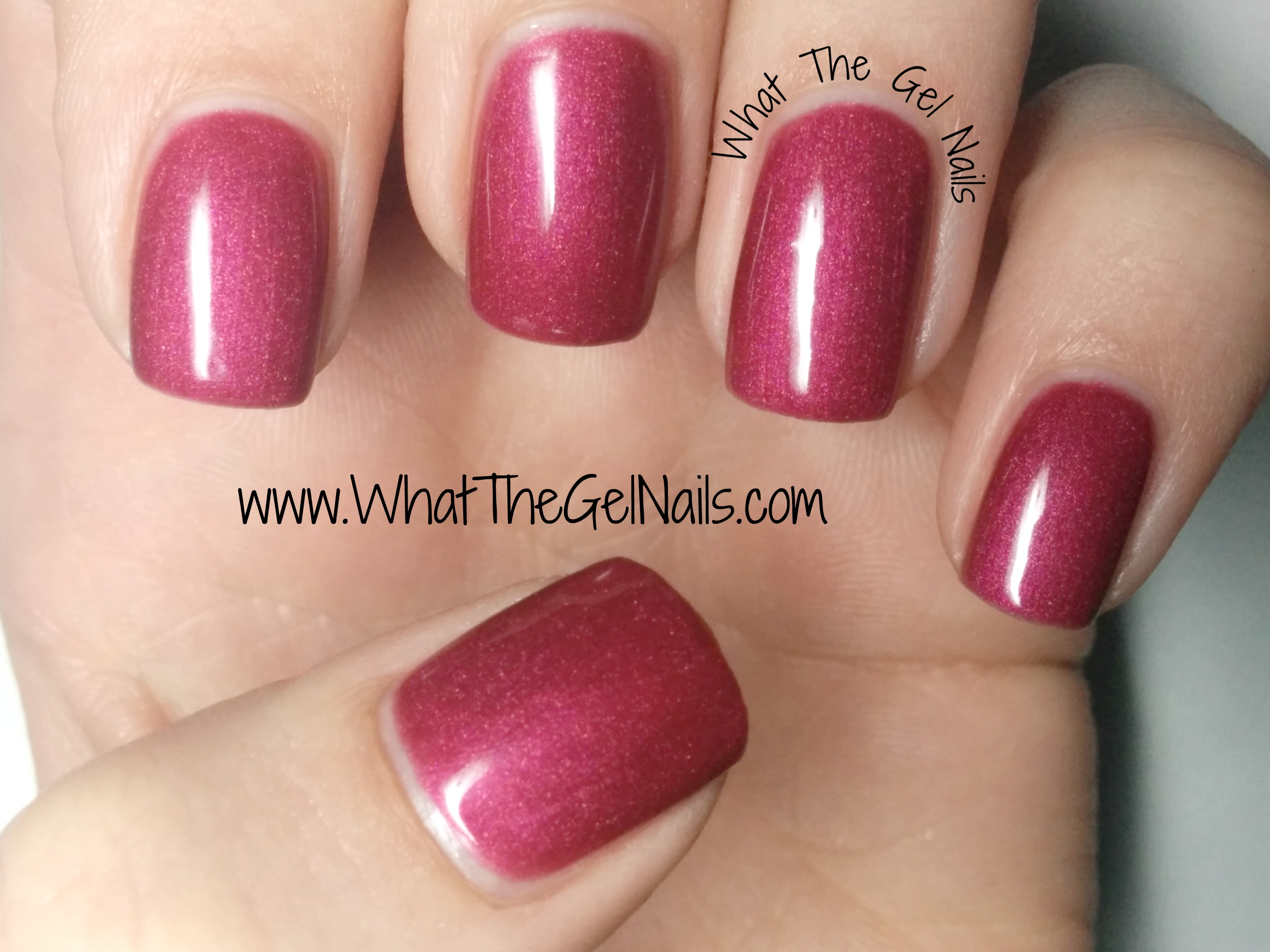 fall color gel nails photo - 1