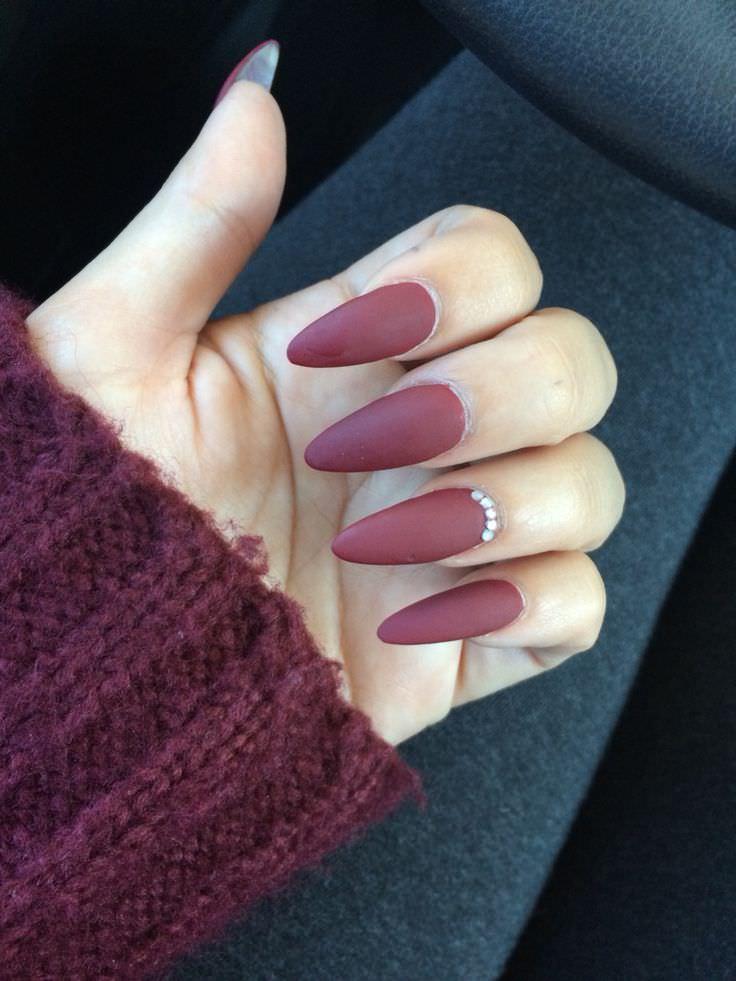 fall stiletto nails photo - 1