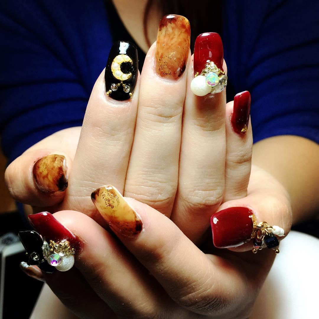 fancy gel nails photo - 1