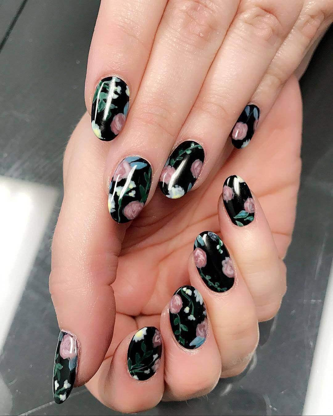 fancy gel nails photo - 2
